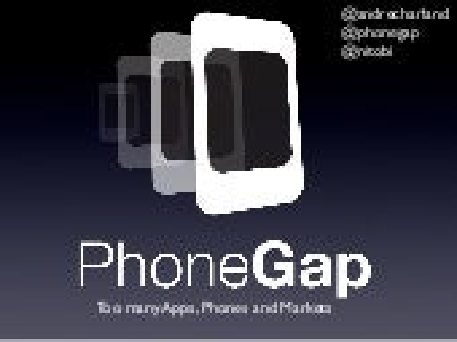 PhoneGap Build Presentation at Deploy2010