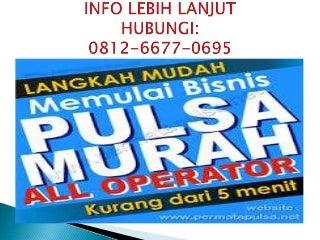 0812-6677-0695 - (T-sel)Deposit pulsa elektrik murah Jambi