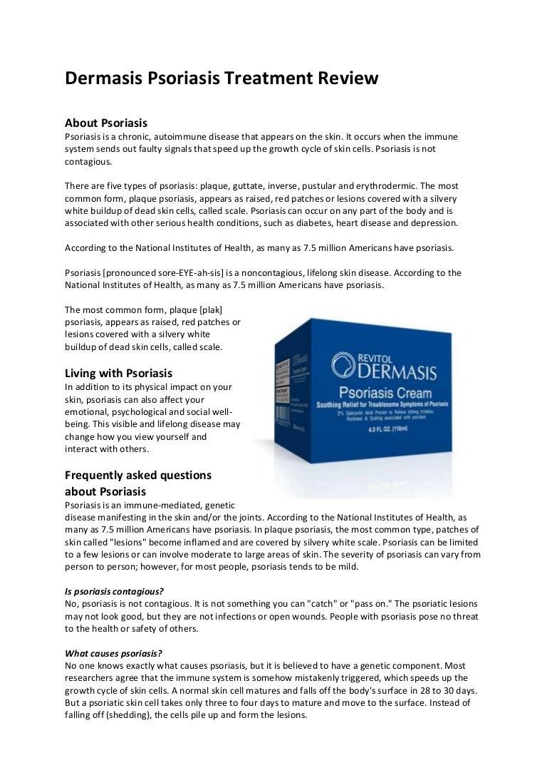 Dermasis Psoriasis Treatment Review