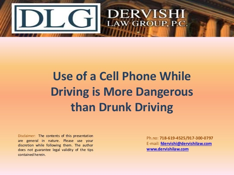 is texting while driving more dangerous than drinking and driving