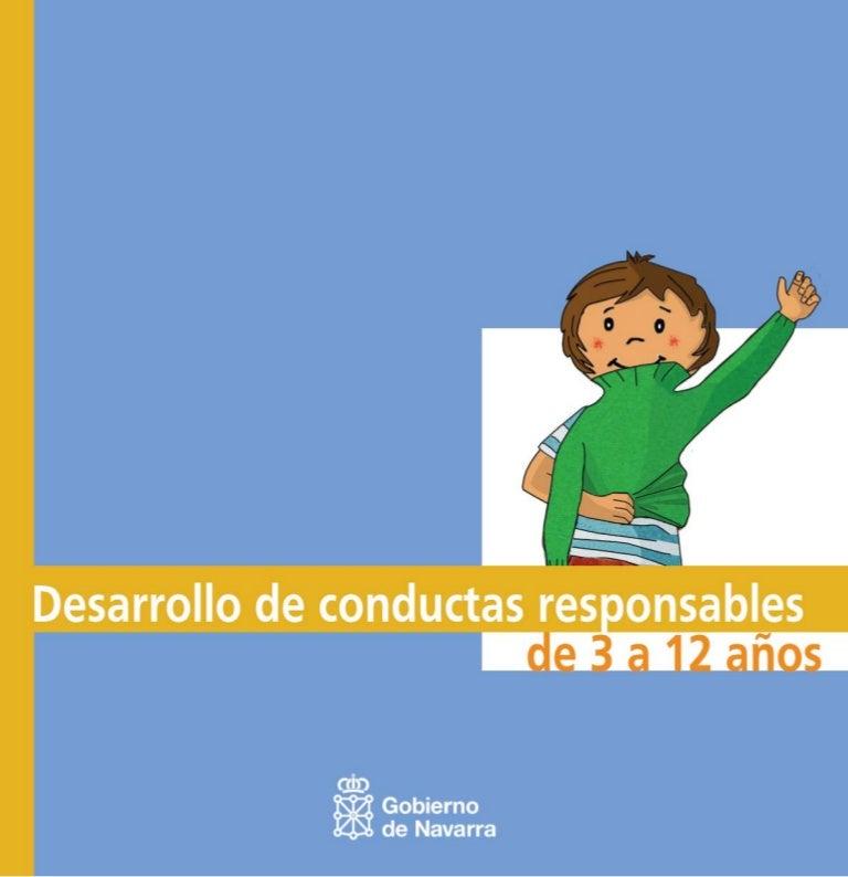 Desarollo De Conductas Responsables De 3 A 12 Años