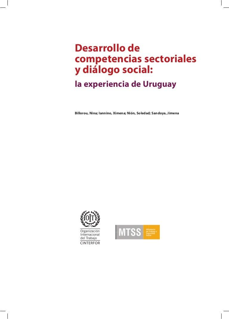 Desarrollo competencias sectoriales 2018