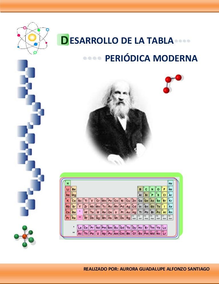 Desarrollo de la tabla periodica moderna urtaz Image collections