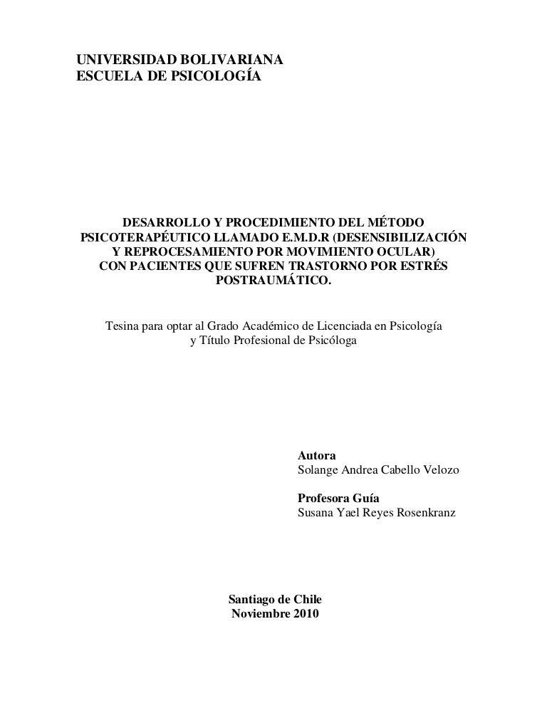 protocolo emdr para el tratamiento de la disfunción sexual