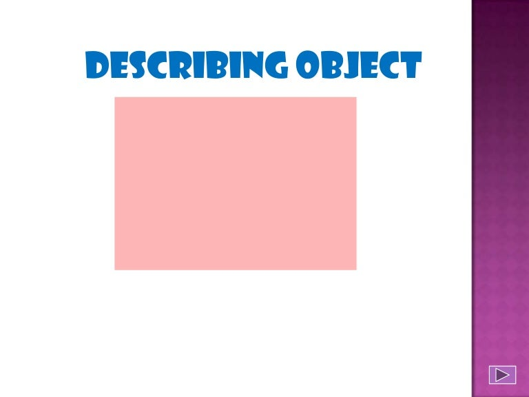 describing technical object