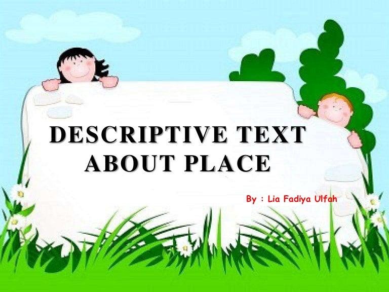 Descriptive text about place