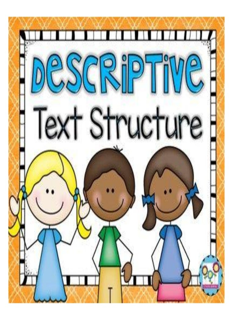 Descriptive Text Structure Pdf
