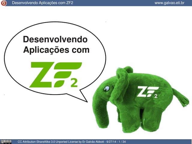 Desenvolvendo aplicações com ZF2