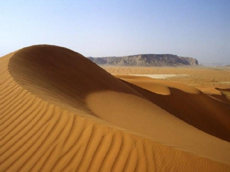 Sec Exp Desert - A hot desert