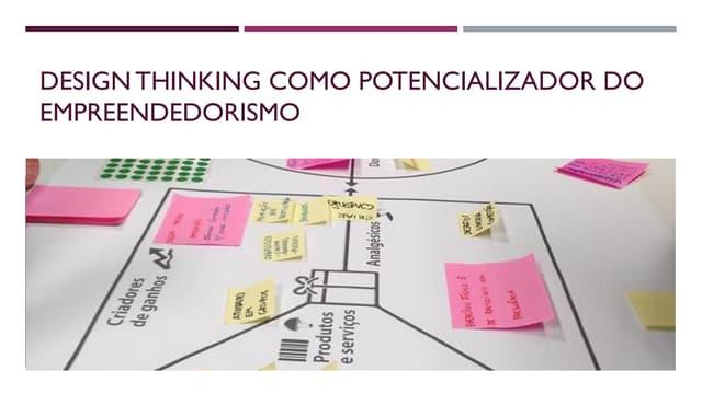 Design Thinking como potencializador do empreendedorismo