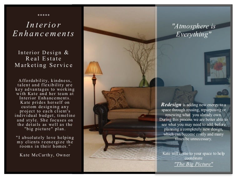 Interior Enhancements Inc Design Brochure