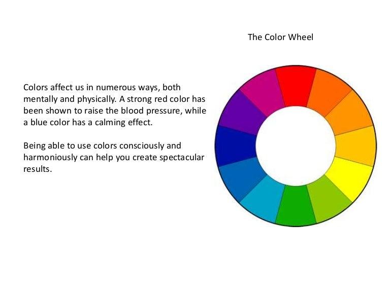 does color affect blood pressure