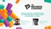 Evento Branded Content: Palestra Design Content