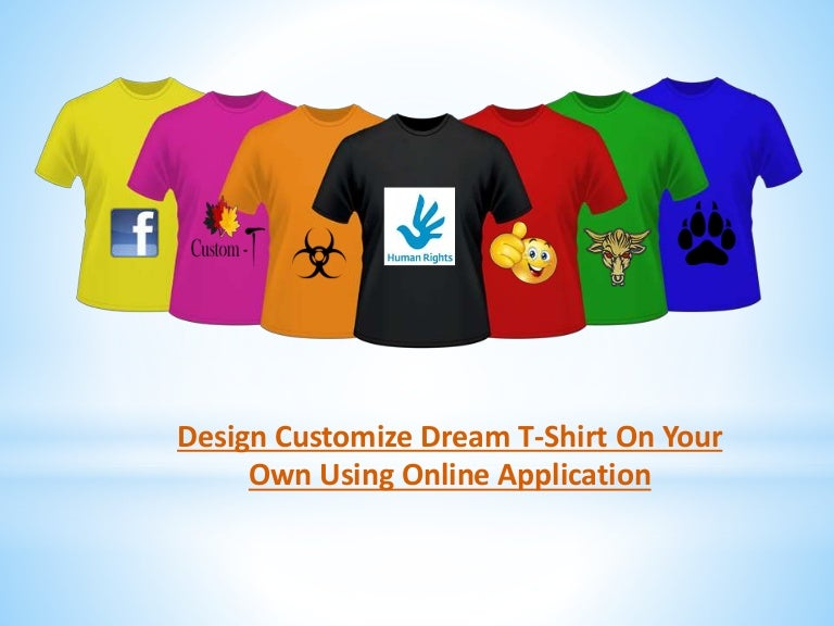 customize your t shirt