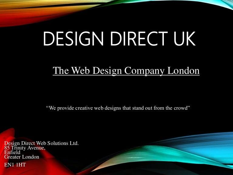The Creative Web Design Company in London - Design Direct UK