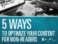 It's My ADHD: Content Optimization for Today's Readers | Oneupweb