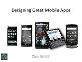 Designing Great Mobile Apps