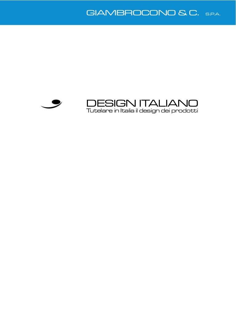 design italiano memorandum