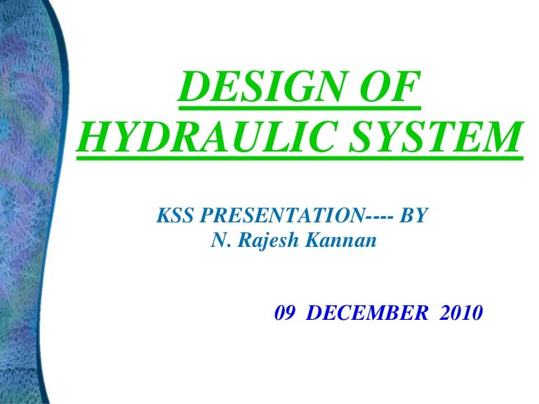 Hydraulic Circuit Design Pdf - Somurich com