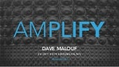 Amplify: Design Operation's Core Mission to Amplify the Value of Design Practice