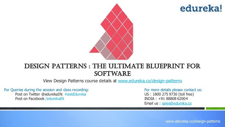 Design patterns the ultimate blueprint for software malvernweather