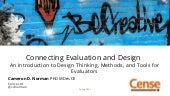 An Introduction to Design Thinking for Evaluation