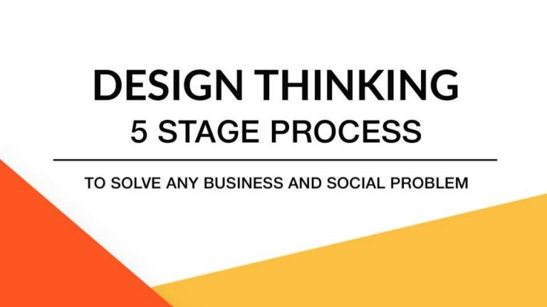 Design Thinking The 5 Stage Process