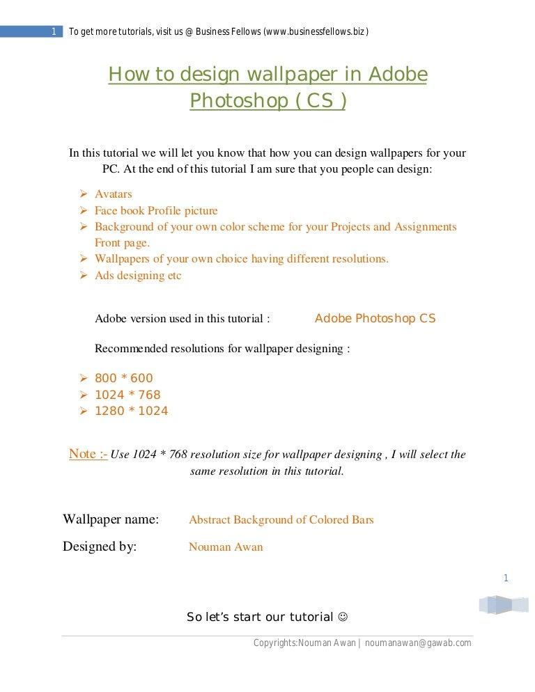 Design wallpaper in adobe photoshop ( business fellows )