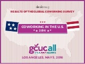 Coworking in the USA 2016 - GCUCALL 2016
