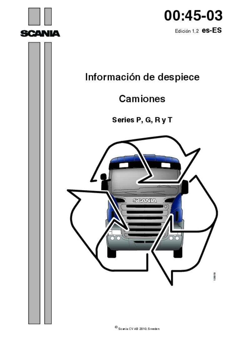 despiece scania el choto de alfafar rh es slideshare net manual do motor scania d11 manual motor scania dc16 completo