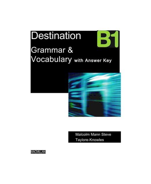 решебник к учебнику grammar and vocabulary