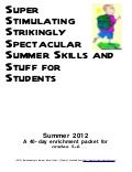 DE Summer Enrichment Packet