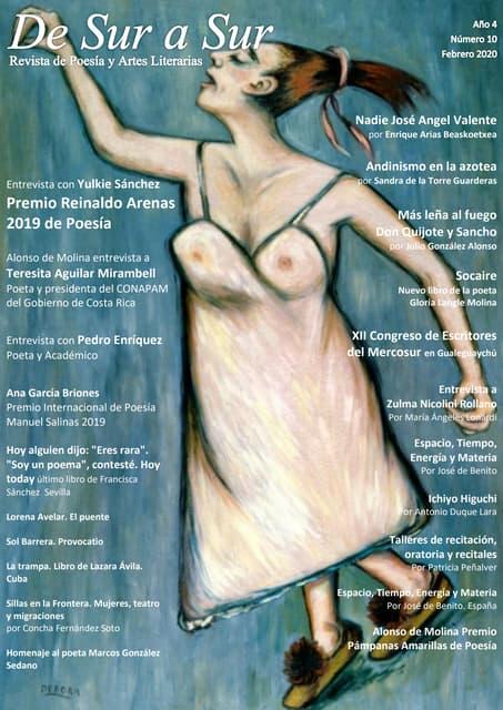 De Sur a Sur Poesía y Artes Literarias. Revista Digital #10