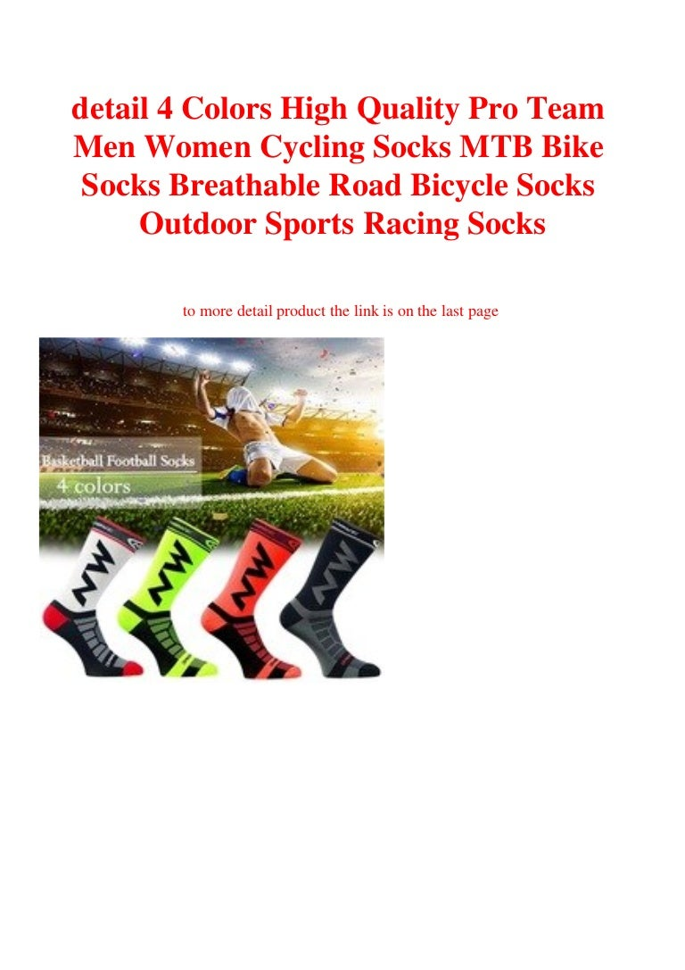 High Quality Pro Team Men Women Cycling Socks MTB Bike Breathable Sports Racing
