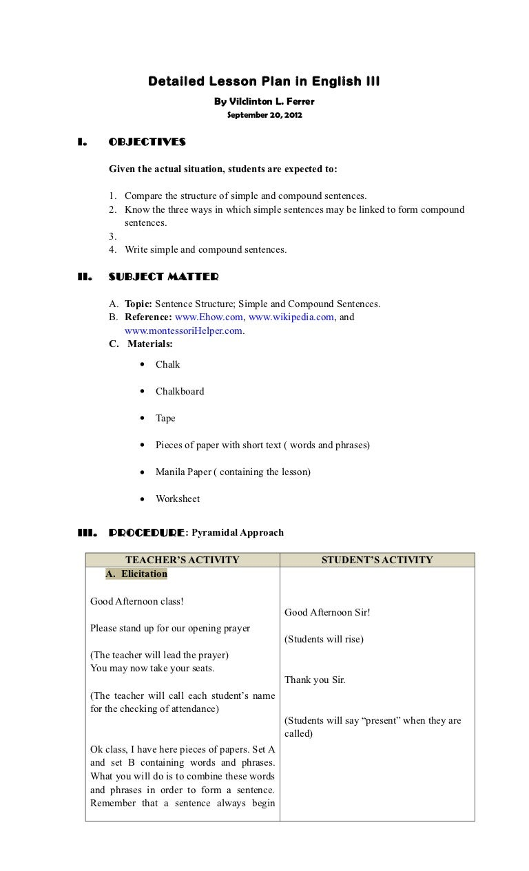 a detailed lesson plan Browse seventh grade math lesson plans with detailed activity descriptions or compare against state math curriculum standards.