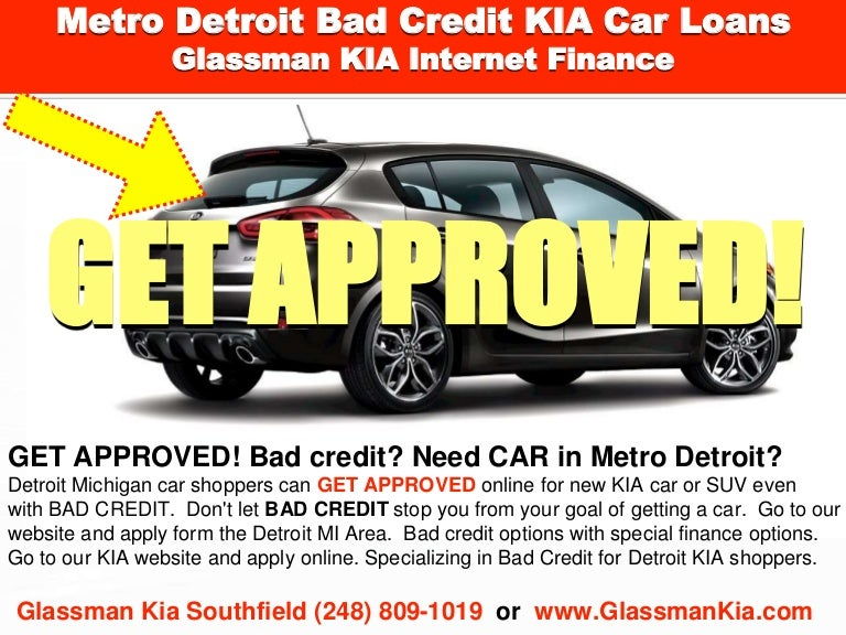Kia Finance Bad Credit >> Detroit Bad Credit Kia Car Loans L Finance Options