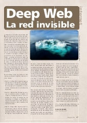 Deep Web. La red invisible