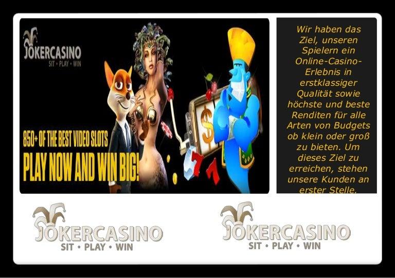 joker casino jobs