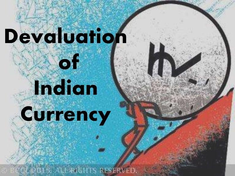 Devaluation of the indian rupee   economics help.