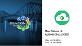 The future of Activiti Cloud @ DevCon 2019