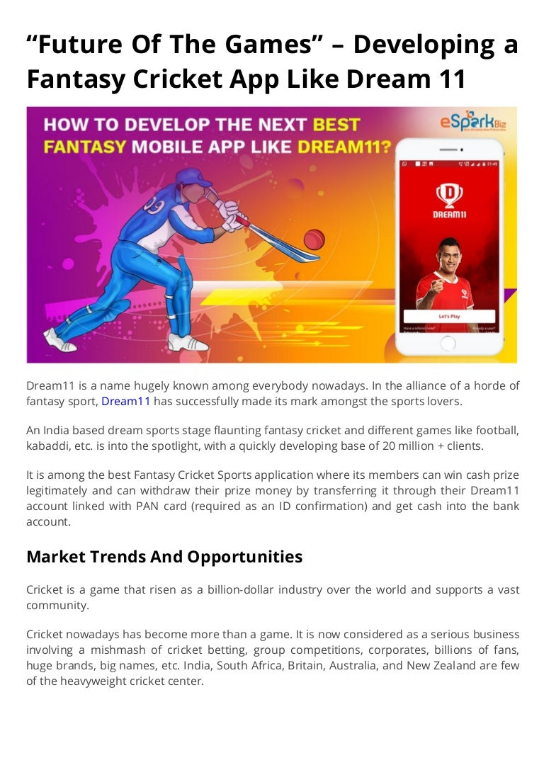 Dream11 bet app download