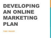 Revised: Developing an Online Marketing Plan