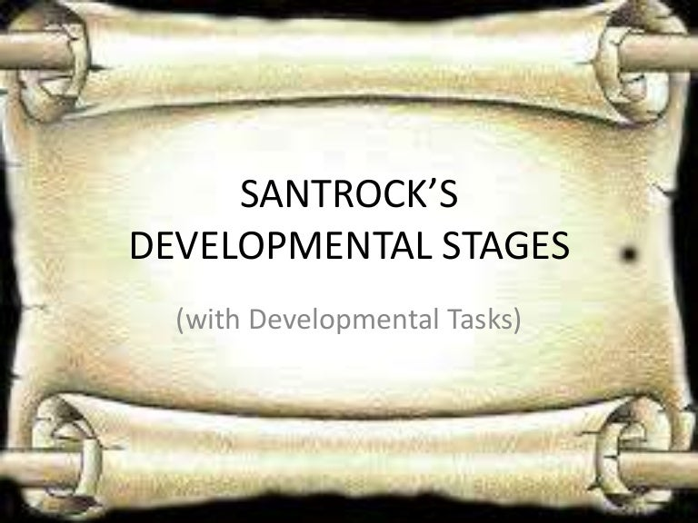 stages of human development according to santrock