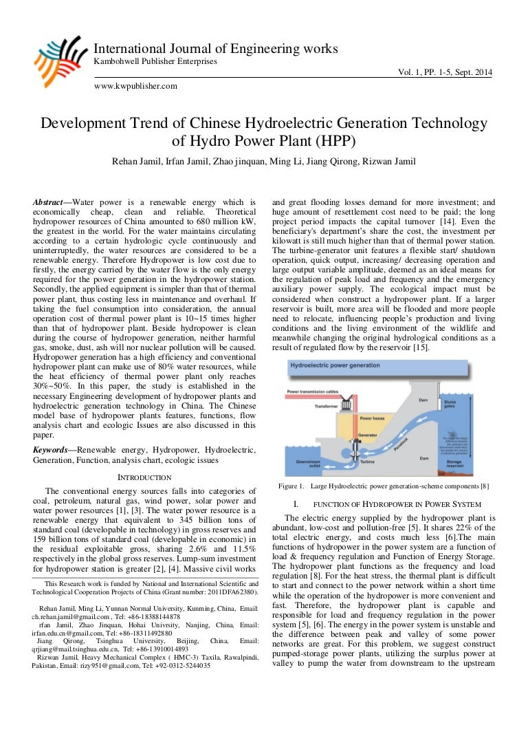 Development trend of chinese hydroelectric generation technology of h nvjuhfo Image collections