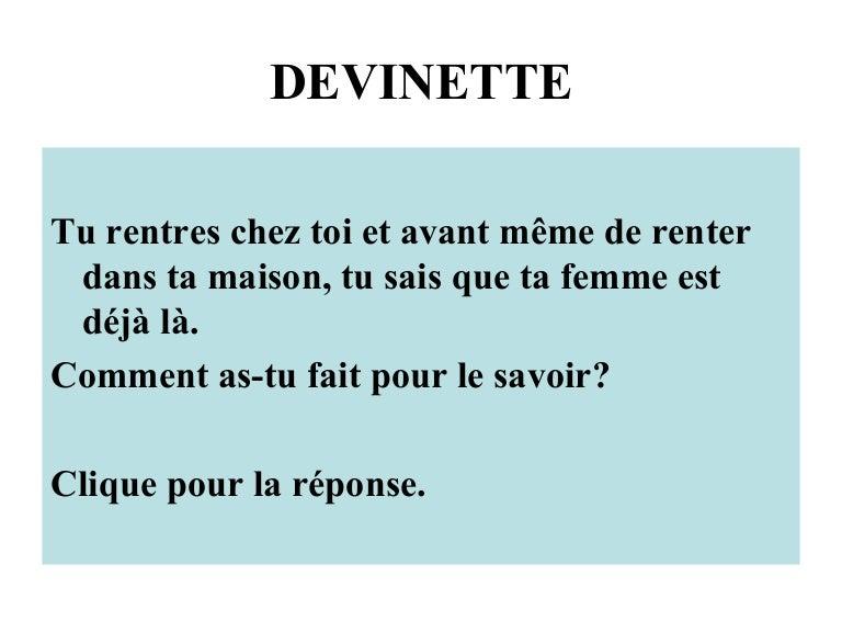 Devinette