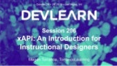 xAPI Intro for Instructional Designers - DevLearn18