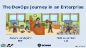 The DevOps journey in an Enterprise - Continuous Lifecycle London 2016