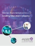 Devops implementation for a leading education company