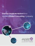 DevOps implementation for a leading global consulting Company