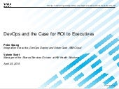 DevOps and the Case for ROI to Executives